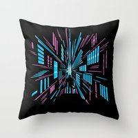Tunnel to the Stars Throw Pillow