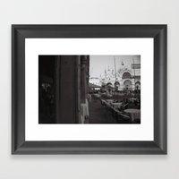 Venice Piazza San Marco Framed Art Print