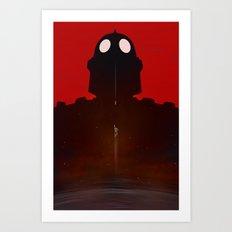 Iron Red Art Print