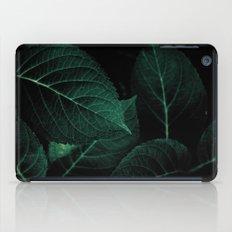 Dark Leaves I iPad Case