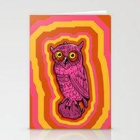 Psychowl Stationery Cards