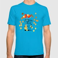 Beste Freunde - best friends Mens Fitted Tee Teal SMALL