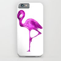 iPhone & iPod Case featuring Flamingo by Danielle Podeszek