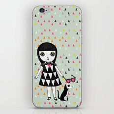 She loves her eames.  iPhone & iPod Skin