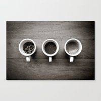 coffee V. Canvas Print