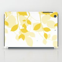 Spring Leaves iPad Case