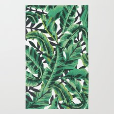 Tropical Glam Banana Lea… Rug