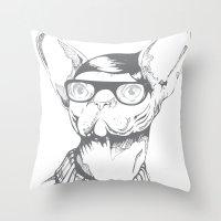 Gatopasta Throw Pillow