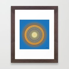 Fleuron Composition No. 214 Framed Art Print