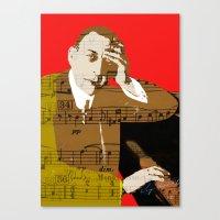 Sergei Rachmaninov Canvas Print