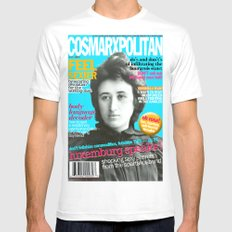 COSMARXPOLITAN, Issue 13 White Mens Fitted Tee SMALL
