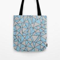 Ab Blocks Blue #2 Tote Bag