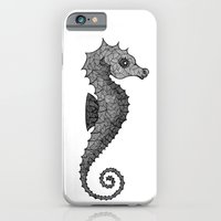 iPhone & iPod Case featuring Seahorse by silb_ck