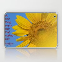 Be Happy. Laptop & iPad Skin