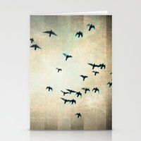 One For The Birds Stationery Cards