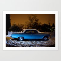 cold Impala - West Seattle Art Print