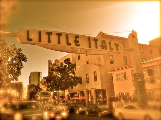Little Italy Art Print