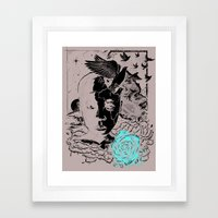Wings of Change Framed Art Print