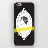 Believe in Sherlock iPhone & iPod Skin