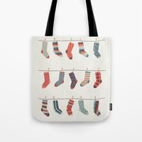 Don't Waste Time Matching Socks Tote Bag