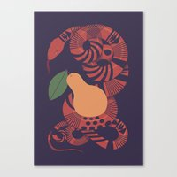 The Forbidden Fruit Canvas Print