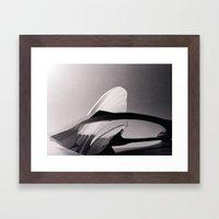 Paper Sculpture #2 Framed Art Print