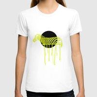 zebra T-shirts featuring Zebra by ministryofpixel