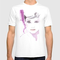 Fashion Illustration In … Mens Fitted Tee White SMALL