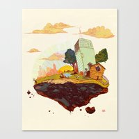 Driftaway Canvas Print