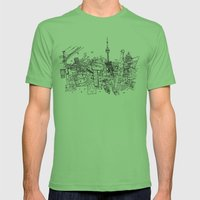 Toronto! Mens Fitted Tee Grass SMALL