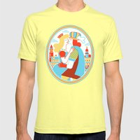 Venice For Lovers Mens Fitted Tee Lemon SMALL