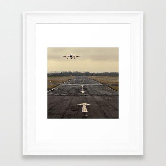 landing... Framed Art Print