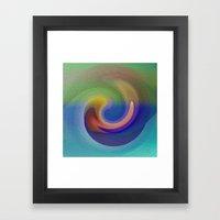 Ocean Wave Number Three Framed Art Print