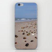 Shiney Stoney Beach - Nairn Scotland - Stones iPhone & iPod Skin