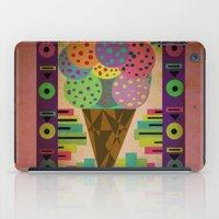 Fancy Ice Cream iPad Case