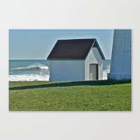 Point Judith After The S… Canvas Print