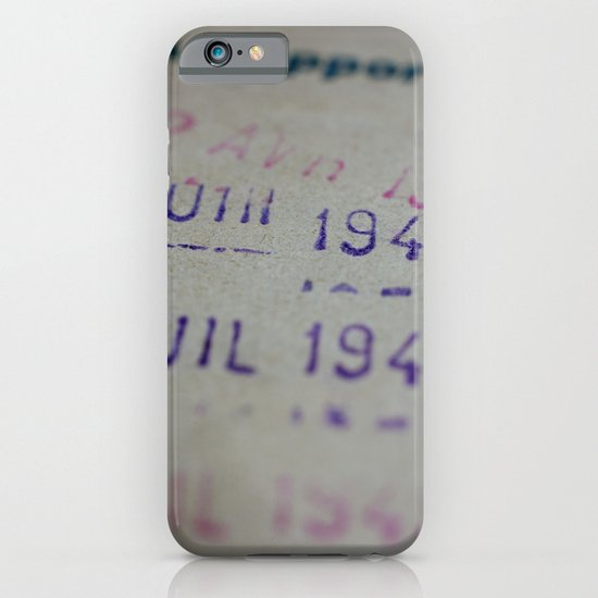 Due date iPhone & iPod Case