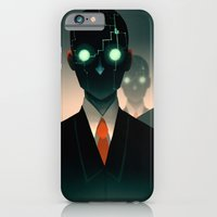 iPhone & iPod Case featuring Microchip mind control by Lunacy