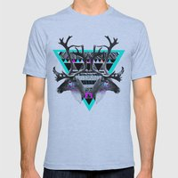 ▲CARIBOU▲ Mens Fitted Tee Athletic Blue SMALL