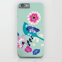 Birds And Blooms 3 iPhone 6 Slim Case