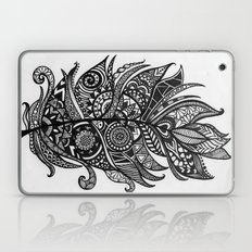 Zen Tangle Feather Laptop & iPad Skin