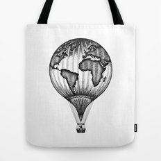 EXPLORE. THE WORLD IS YOURS. (No text) Tote Bag