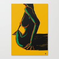 Swimmer #1 Canvas Print