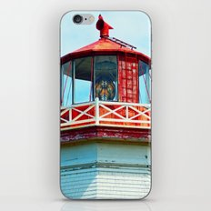 North Cape Lighthouse Top iPhone & iPod Skin
