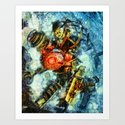 Bioshock Big Sister Art Print