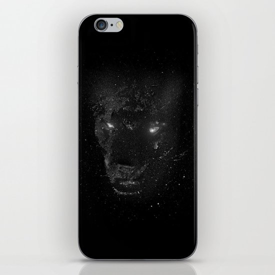 Space Panther iPhone & iPod Skin