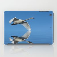 Reflections Of A Swan iPad Case