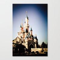 Disney Paris Canvas Print