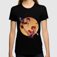 With You Womens Fitted Tee Black SMALL