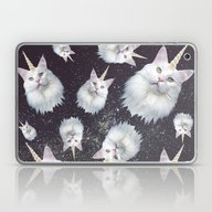 Unicorn Cat Laptop & iPad Skin